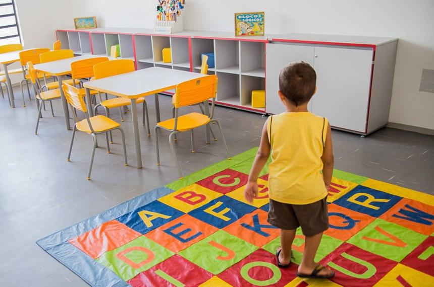 Geraldo Alckmin, Governador do Estado de São Paulo, inaugura creche-escola de Uru, SP. Data: 28/02/15. Local: URU / SP. Foto: Patrícia Cruz/A2FOTOGRAFIA.