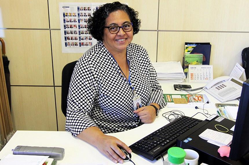 Ester Monteiro, diretora de Jornalismo da Secom: esforço para condensar em 10 minutos de programa tudo o que acontece na Casa