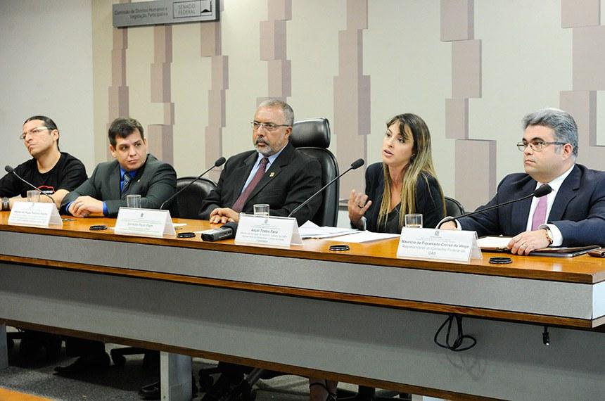 A Subcomissão do Estatuto do Trabalho também ouviu operadores do Direito sobre o processo trabalhista após a reforma sancionada por Michel Temer