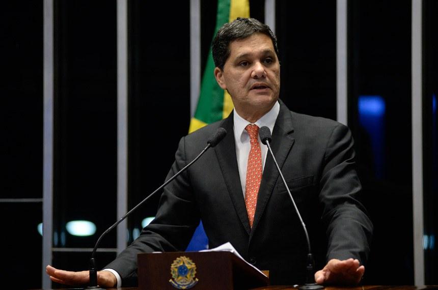 Plenário do Senado Federal durante sessão deliberativa ordinária.   Em discurso, senador Ricardo Ferraço (PSDB-ES).  Foto: Jefferson Rudy/Agência Senado