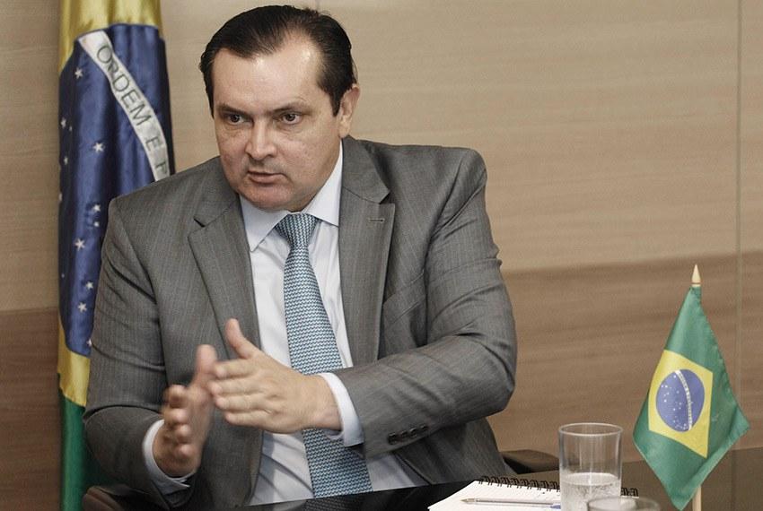 11.04.2018 11.04.2018 Pádua Andrade, ministro da Integração Nacional. FOTO:ADALBERTO MARQUES/MI