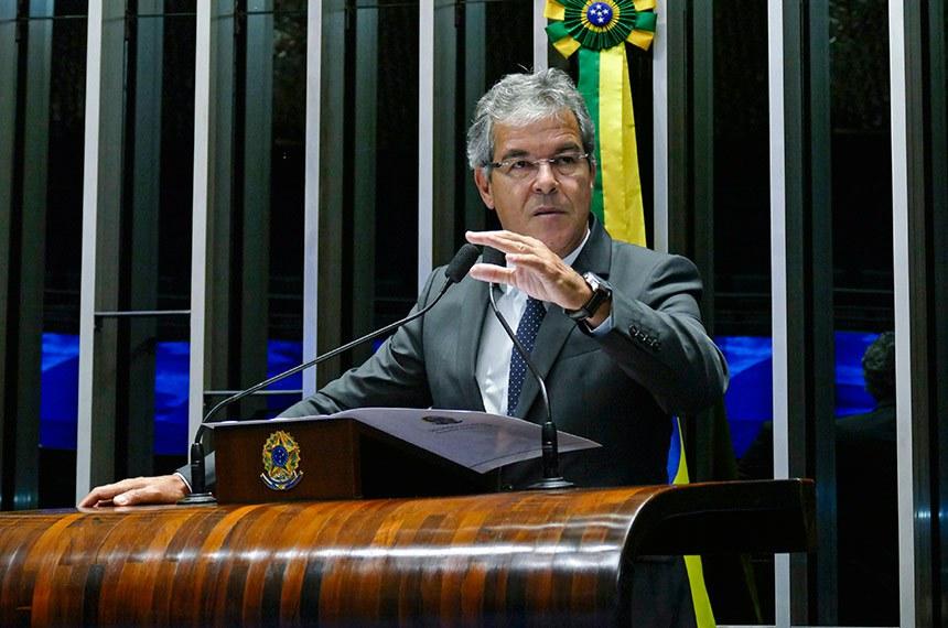 Plenário do Senado Federal durante sessão deliberativa ordinária.   Em discurso, à tribuna, senador Jorge Viana (PT-AC).  Foto: Roque de Sá/Agência Senado