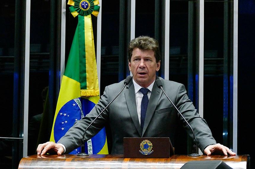 Plenário do Senado Federal durante sessão deliberativa ordinária.   Em discurso, à tribuna, senador Ivo Cassol (PP-RO).  Foto: Roque de Sá/Agência Senado