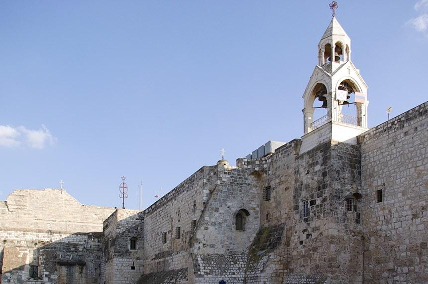 2008 - Igreja da Natividade, em Belém, na Palestina.