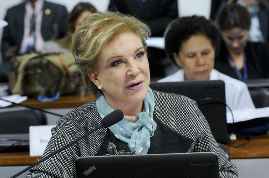 O debate é uma iniciativa das senadoras Marta Suplicy e Regina Sousa (ao fundo)