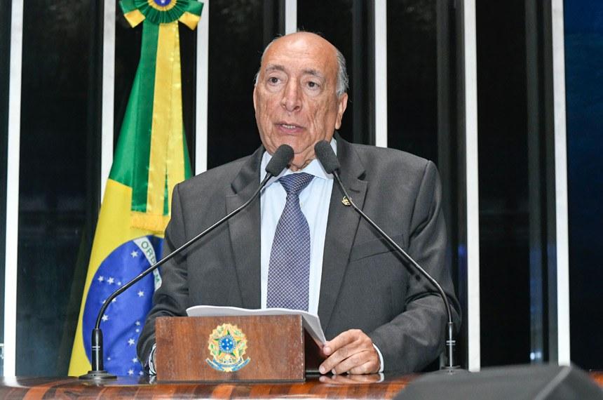 Plenário do Senado Federal durante sessão deliberativa ordinária.   À tribuna em discurso, senador Pedro Chaves (PRB-MS).  Foto: Waldemir Barreto/Agência Senado