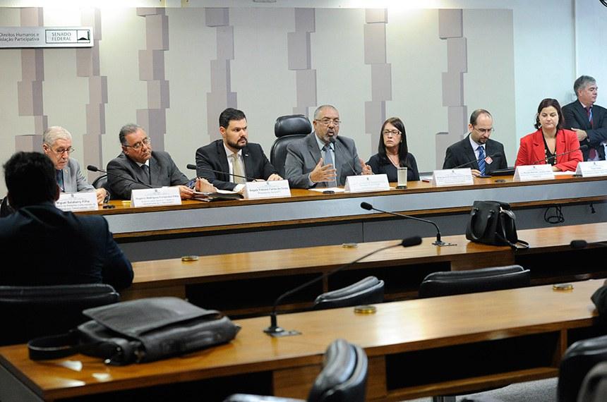 Subcomissão Temporária do Estatuto do Trabalho (CDHET) realiza audiência pública interativa para debater o tema: