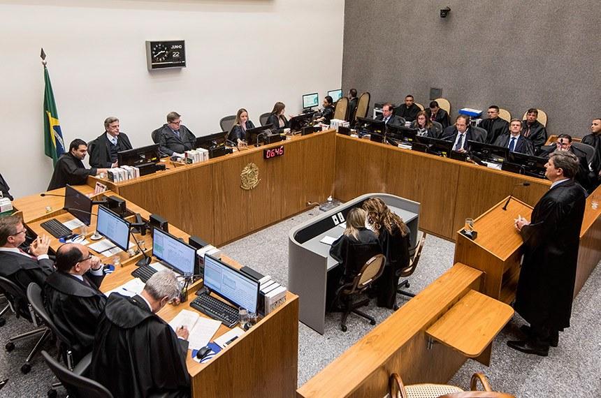 Brasília, 22/06/2016. Julgamentos na Segunda Seção do STJ. Foto : Sergio Amaral/STJ.