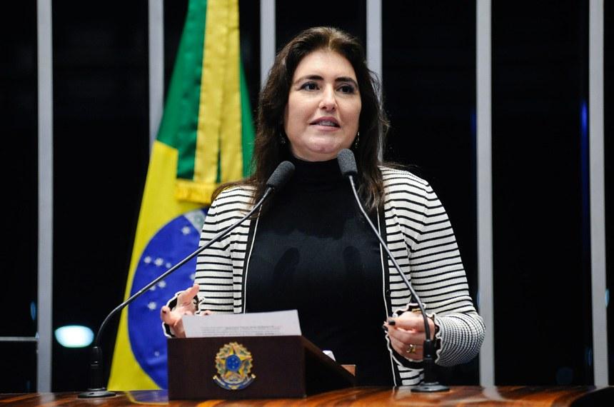 Resultado de imagem para senadora Simone Tebet (MDB-MS)
