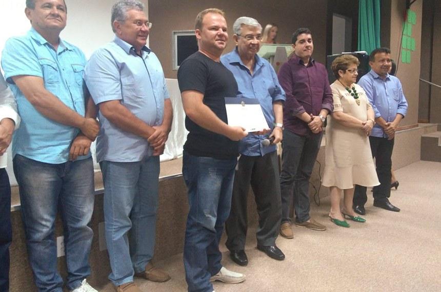 Capacitação promovida pelo Interlegis em Apodi (RN) com a participação do senador Garibaldi Alves Filho (PMDB-RN).