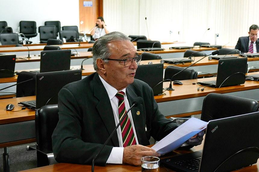 Autor do requerimento para o debate, senador Rodrigues Palma (PR-MT)