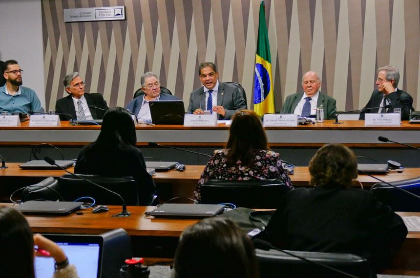 Comissão Senado do Futuro (CSF) realiza   Foto: Roque de Sá/Agência Senado