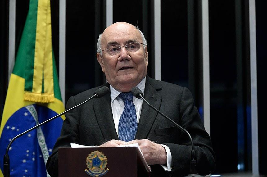 Plenário do Senado Federal durante sessão deliberativa ordinária.   Em discurso, senador Flexa Ribeiro (PSDB-PA).  Foto: Waldemir Barreto/Agência Senado