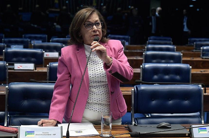 Plenário do Senado Federal durante sessão deliberativa extraordinária.   À bancada em pronunciamento, senadora Lídice da Mata (PSB-BA).  Foto: Waldemir Barreto/Agência Senado