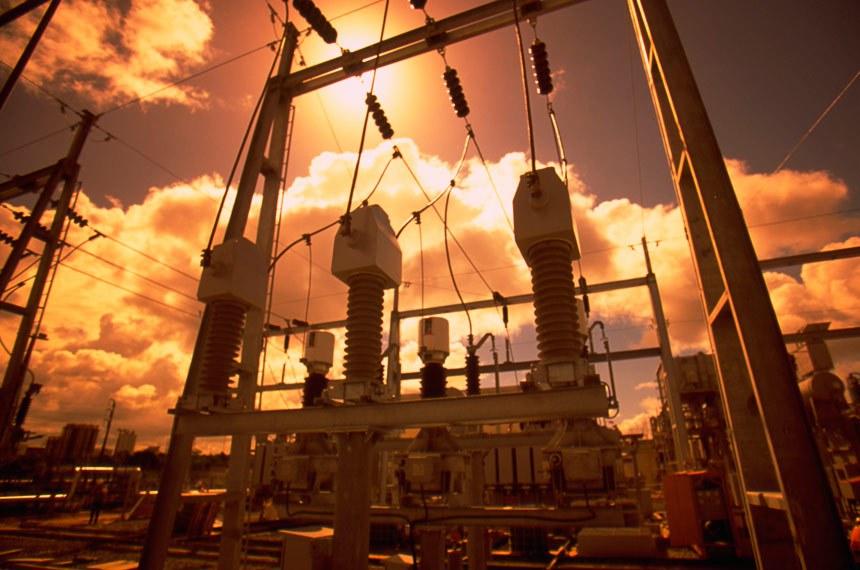Construção da termelétrica FAFEN Energia - Usina de co-geração de Camaçari.   Foto: Geraldo Falcão/Agência Petrobras