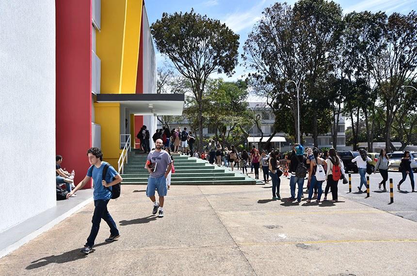 Especial Cidadania - Novo financiamento estudantil.   Centro Universitário de Brasília - UniCEUB  Foto: Pillar Pedreira/Agência Senado