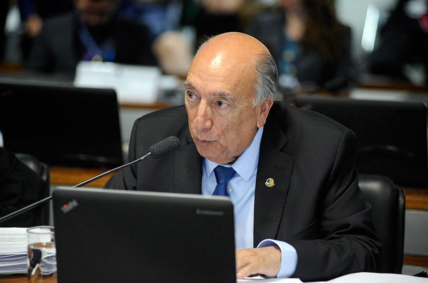 Senador Pedro Chaves (PRB-MS), autor do PLS 7/2018, relatado por Lasier Martis (PSD-RS) e que será votado na Comissão de Constituição, Justiça e Cidadania (CCJ)