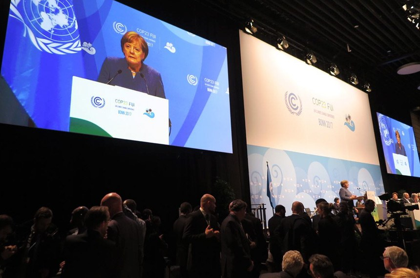 A candidatura brasileira foi apresentada em novembro de 2017, durante a COP 23, na Alemanha