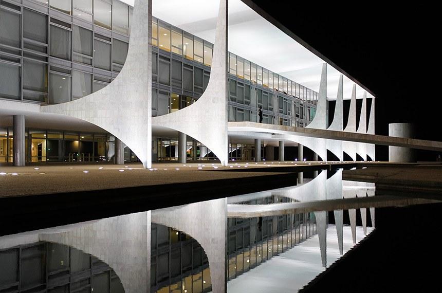 Fachada do Palácio do Planalto.    Foto: Beto Barata/PR