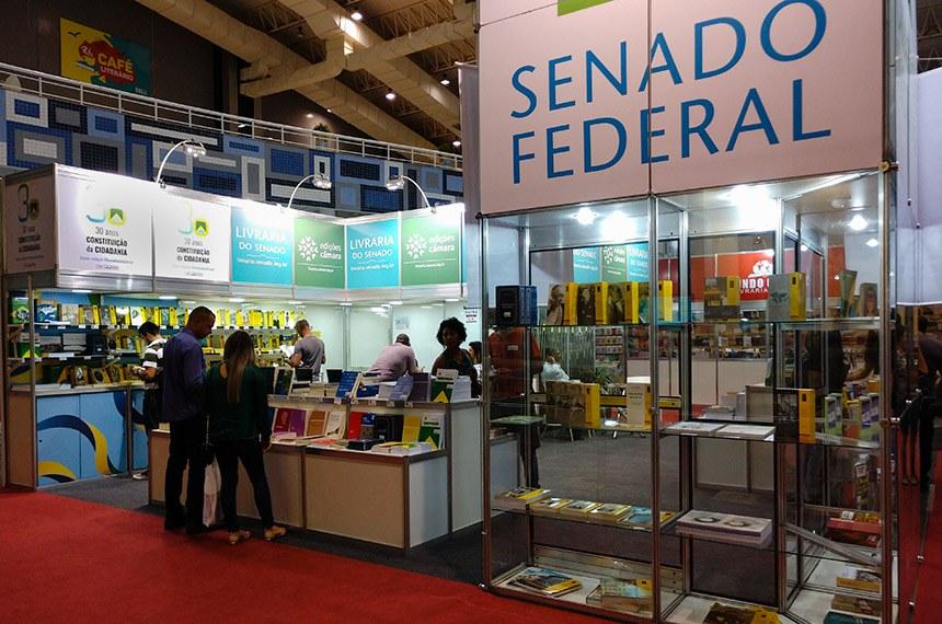 Bienal do Livro - 2018 - Brasília - O Senado está presente na 4ª Bienal Brasil do Livro e da Leitura, que ocorre das 9h às 22h até domingo (26) no Centro de Convenções Ulysses Guimarães