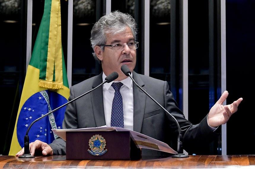 Plenário do Senado Federal durante sessão deliberativa ordinária.   À tribuna em discurso, senador Jorge Viana (PT-AC).  Foto: Waldemir Barreto/Agência Senado