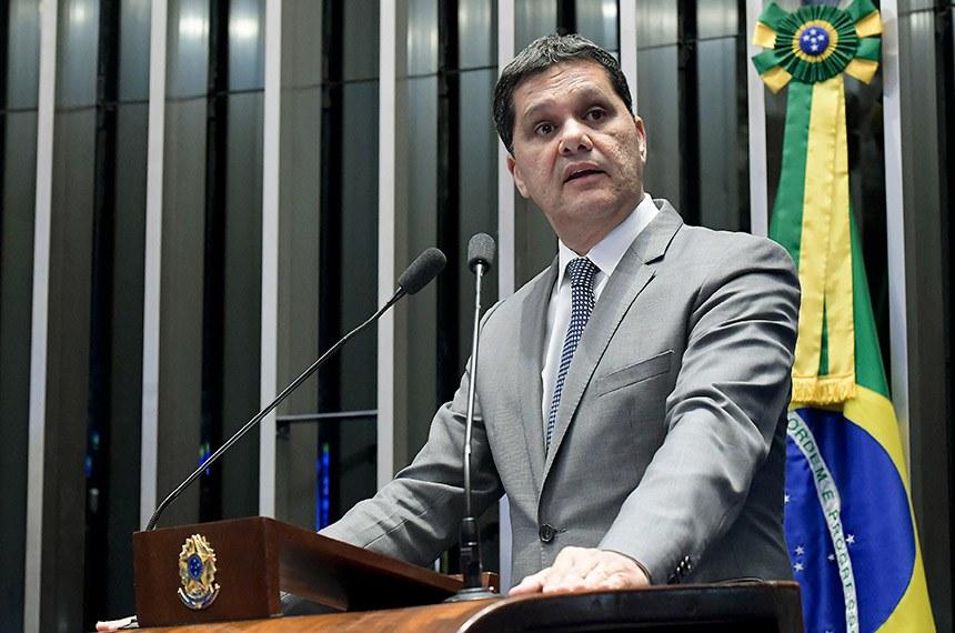 Plenário do Senado Federal durante sessão deliberativa ordinária.   À tribuna em discurso, senador Ricardo Ferraço (PSDB-ES).  Foto: Waldemir Barreto/Agência Senado