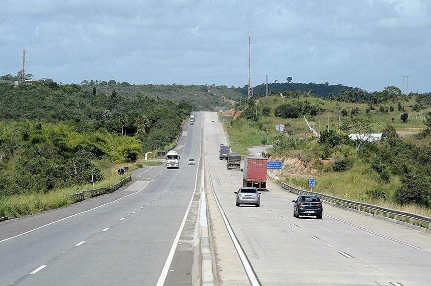 07.05.2014 - BR 101 (SE) - Trecho da BR 101, Km 139, entre Esta^ncia e Aracaju (SE).   Foto: Divulgação/Ministério do Planejamento