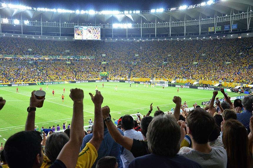 Brasil X Espanha - Final da Copa das Confederações 2013 - Estádio Jornalista Mário Filho - Maracanã - Rio de Janeiro - Brasil.  30/06/2013