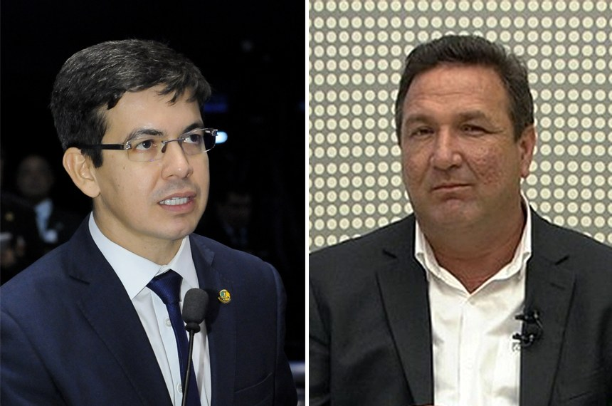 Senadores eleitos pelo Amapá, Randolfe Rodrigues e Lucas Barreto