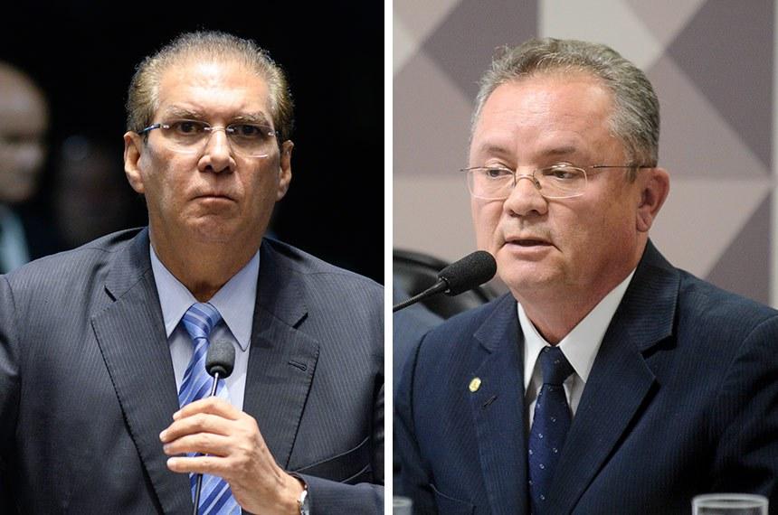 Jader Barbalho e Zequinha Marinho representarão o Pará no Senado