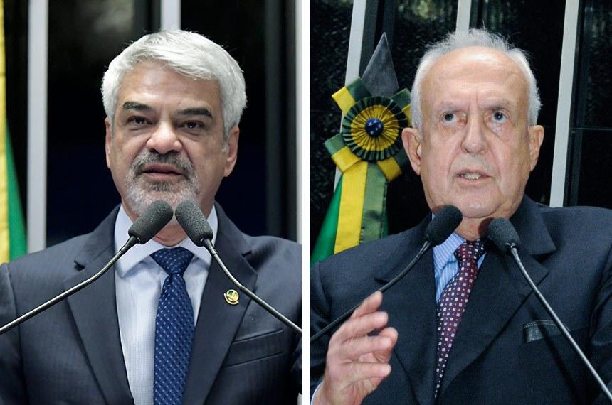 Humberto Costa continua no Senado e Jarbas Vasconcelos volta à Casa