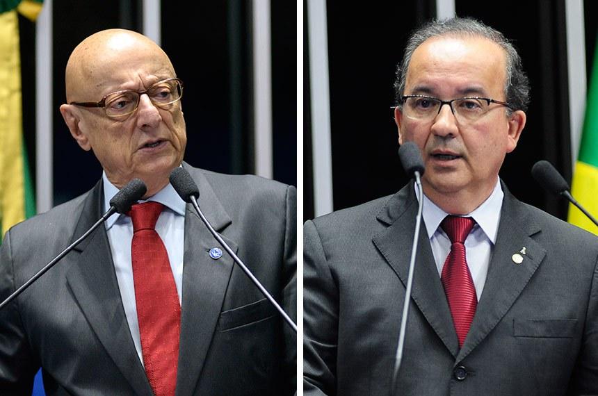 Esperidião Amin e Jorginho Mello