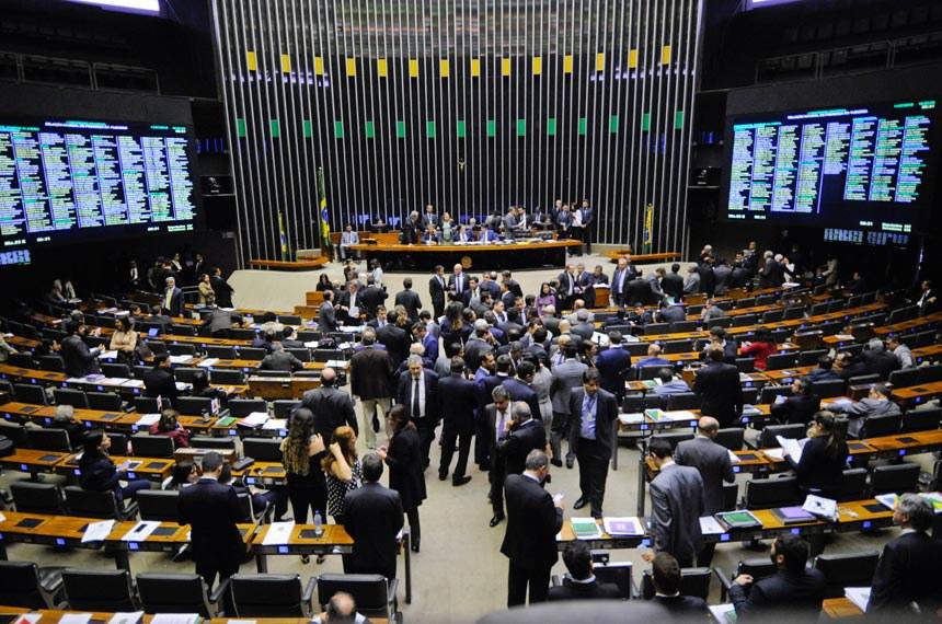 Plenário do Senado Federal durante sessão solene do Congresso Nacional destinada   Foto: Jonas Pereira/Agência Senado