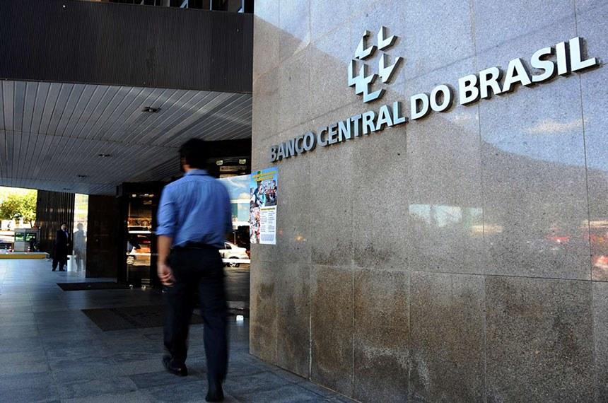 Entrada do Banco Central do Brasil.  Foto: Arquivo EBC  https://cadernomercado.com.br/servidores-de-carreira-sao-indicados-para-diretoria-no-bc/