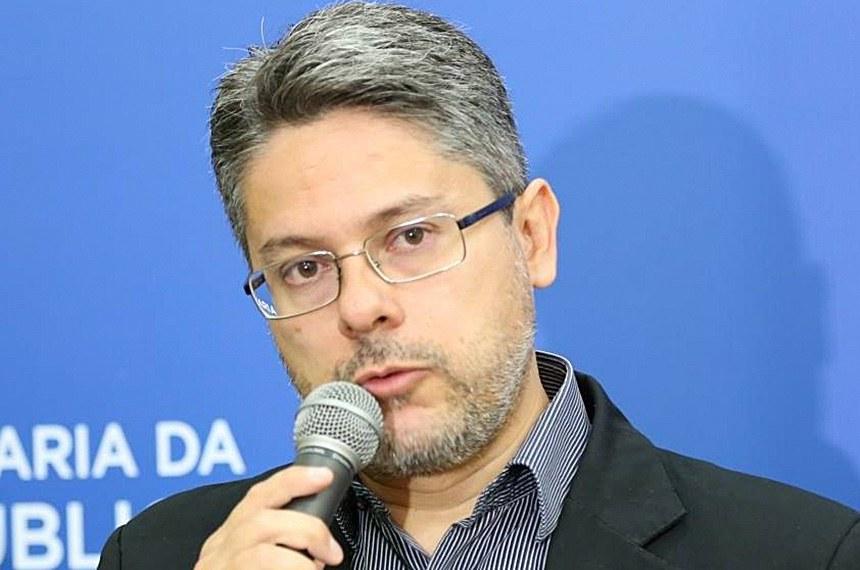 Delegado Alessandro Vieira, candidato ao senado. SE