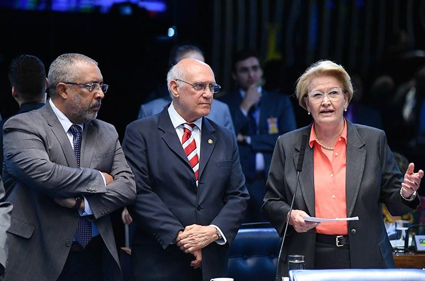O projeto do senador Lasier Martins (PSD-RS) teve apoio dos demais integrantes da bancada gaúcha, senadores Paulo Paim (PT-RS) e Ana Amélia (PP-RS)
