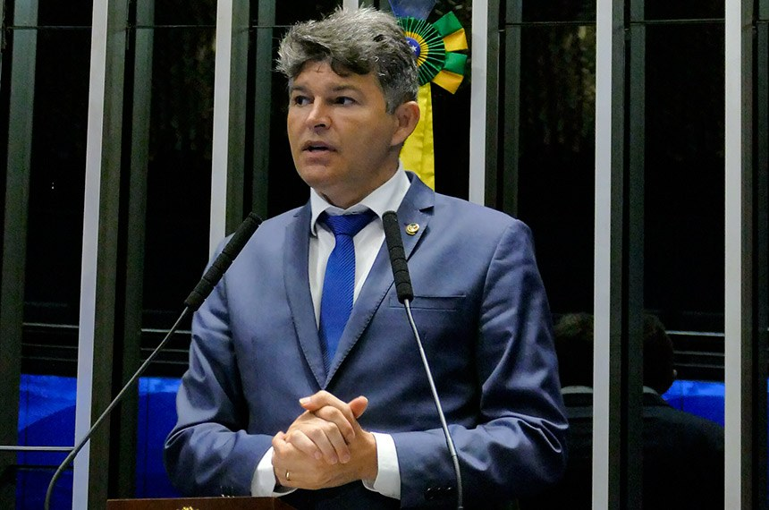 Plenário do Senado Federal durante sessão não deliberativa.   À tribuna em discurso, senador José Medeiros (Pode-MT).  Foto: Roque de Sá/Agência Senado