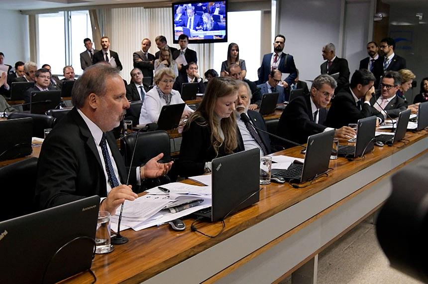 Comissão de Assuntos Econômicos (CAE) realiza   Foto: Waldemir Barreto/Agência Senado