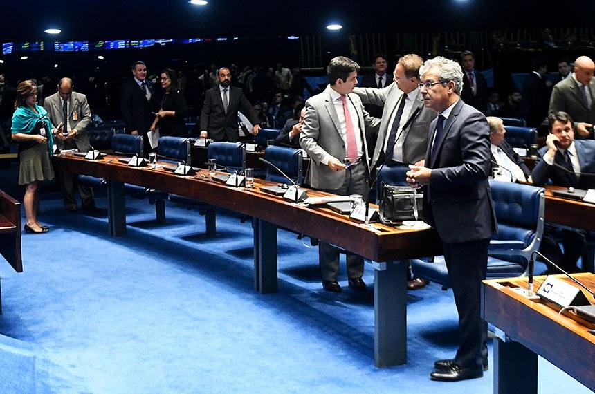 Plenário do Senado Federal durante sessão deliberativa ordinária. Ordem do dia.  Em pronunciamento, senador Jorge Viana (PT-AC).  Foto: Jefferson Rudy/Agência Senado
