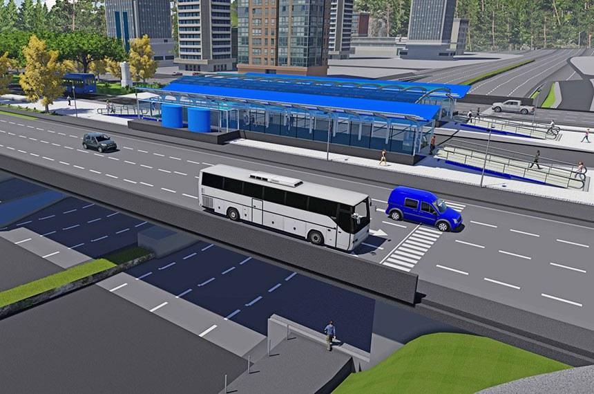 o processo licitatório para construção do Bus Rapid Transit Sul (BRT – Palmas Sul), com a sessão de lances e a classificação das propostas de preços. Ao todo, sete empresas se inscreveram das quais, seis efetivamente participaram dos lances eletrônicos. A melhor classificada foi a Construtora Artec S/A, cujo lance foi de R$ 262.490.000,00 (duzentos e sessenta e dois milhões e quatrocentos e noventa mil reais).