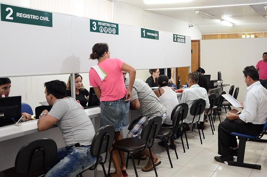 Encerrou-se nesta terça-feira, 18, a operação de fiscalização do Procon-AC nos cartórios de Rio Branco para dar cumprimento à Lei Municipal 2.117/2015, que dispõe sobre o tempo máximo para atendimento aos clientes.   Foto: Agência Acre