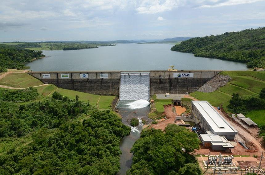 Barragem do Ribeirão João Leite integra Sistema Produtor Mauro Borges.