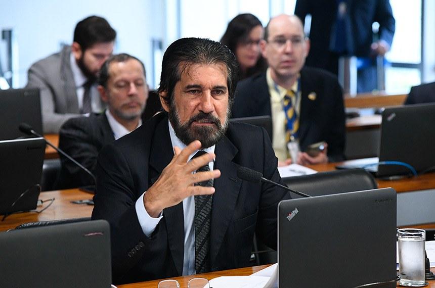 Senador Valdir Raupp é o relator da matéria