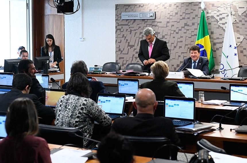 Ivo Cassol preside reunião da CRA em que projeto foi aprovado