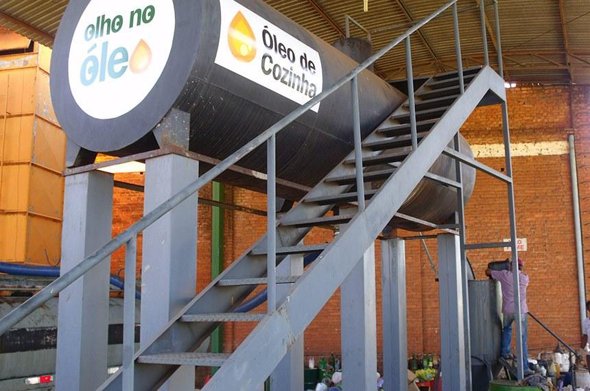 2.12.2011 Óleo de Cozinha - Ecotudo/Coopervinte Descarte de óleo do cozinha