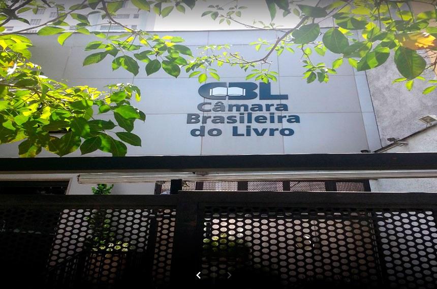 Fachada da Câmara Brasileira de Livros (CBL)
