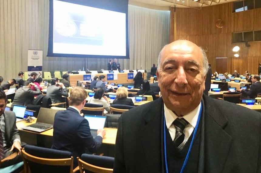 O senador Pedro Chaves (PRB-MS), membro da Comissão de Relações Exteriores e Defesa Nacional do Senado Federal, represena o Brasil na 73º Assembleia Geral da ONU (Organização das Nações Unidas), em Nova Iorque, nos EUA, entre os dias 4 e 6 de Dezembro. O encontro, que reune as principais lideranças mundiais tem como pauta relações diplomáticas, questões ambientais e econômicas.