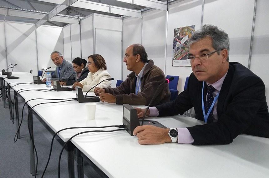 Parlamentares brasileiros participam COP-24 na cidade de Katowice, na Polônia