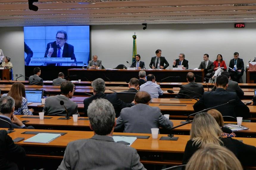 Comissão Mista de Planos, Orçamentos Públicos e Fiscalização (CMO) realiza   Foto: Roque de Sá/Agência Senado