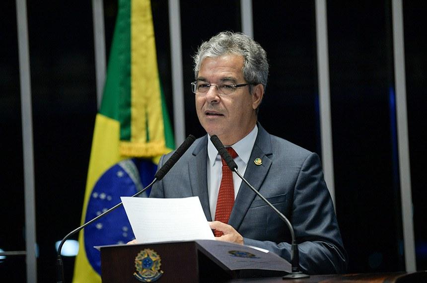 Plenário do Senado Federal durante sessão não deliberativa.   Em pronunciamento, senador Jorge Viana (PT-AC).  Foto: Pedro França/Agência Senado